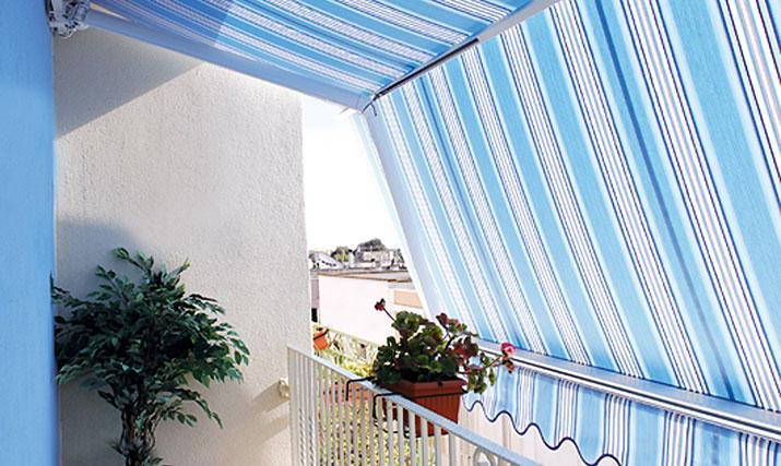 Tende Da Sole Terrazzo. Excellent Retrattile Balcone Tetto Terrazza ...